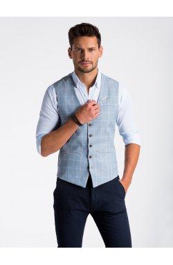 Men's vest V50 - светло - голубой