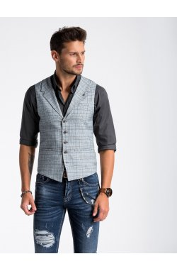 Men's vest V51 - светло - Серый