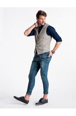 Men's vest V51 - Серый