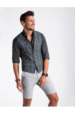 Men's vest V51 - черный