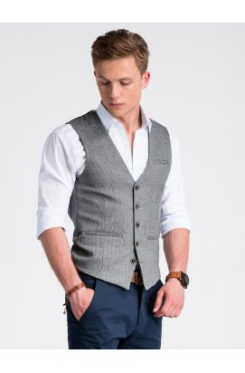 Men's vest V52 - Серый