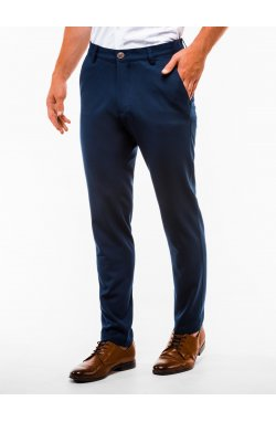Men's pants chinos P832 - Синий
