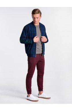Men's mid- season bomber jacket C424 - Синий
