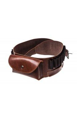 Ремень из кожи для оружия с карманом Artipel кал. 243-300WM