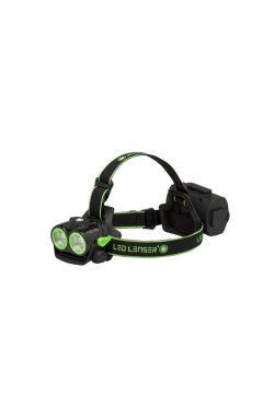 Фонарь налобный LedLenser XEO19R Black\\Green (заряжаемый)