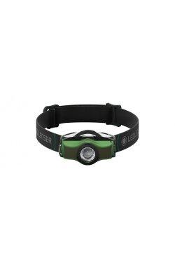 Фонарь налобный Ledlenser MH4 green