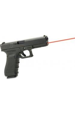 Лазерный целеуказатель интегрированный под Glock 17 Gen 4 (красный)