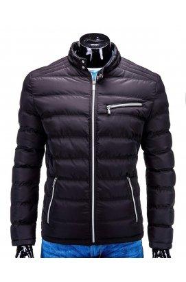 Куртка мужская демисезонная стеганая K209 - черный