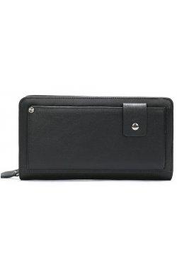 Клатч мужской с ремнем Vintage 14664 Черный, Черный
