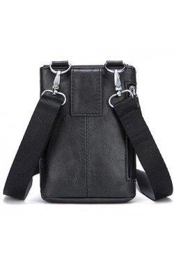 Поясной клатч Vintage 14691 Черный, Черный