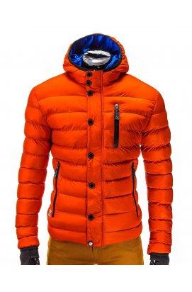 Куртка мужская демисезонная K124 - оранжевый