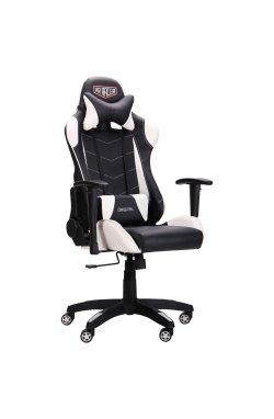 Кресло VR Racer Blade черный/белый