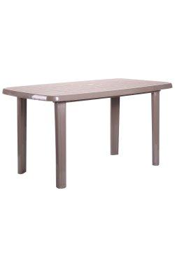 Стол Sorrento 140x80 пластик тауп