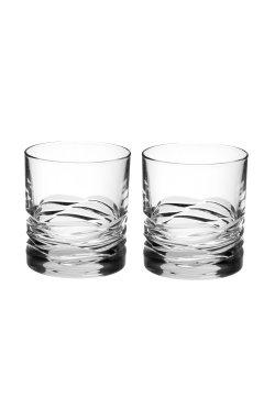 """Набор стаканов для виски """" WAVE """" Style Prestige / 2 шт / 290 мл - wos7312"""