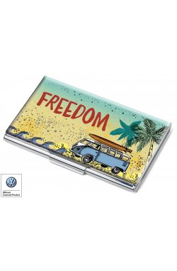 Набор визитница с ручкой Freedom - wos3457