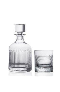 "Набор бокалов для виски "" TOUCH "" Style Prestige / 3 пр / ( графин + 2 стакана ) - wos7320"