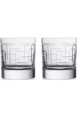 """Набор стаканов для виски """" LABIRINTH """" Style Prestige / 2 шт / 290 мл - wos7322"""