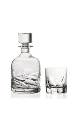 "Набор для виски "" SKULTURA "" Style Prestige / 3 пр / ( графин и 2 стакана ) - wos7346"