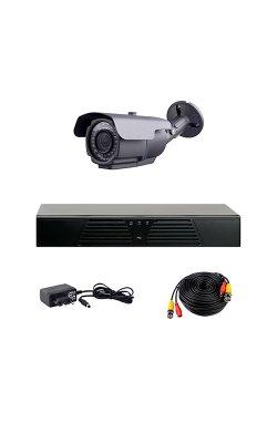 Комплект AHD видеонаблюдения на одну уличную камеру CoVi Security HVK-1003 AHD PRO KIT