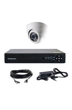Комплект AHD видеонаблюдения на одну купольную камеру CoVi Security AHD-1D KIT