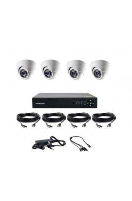 Комплект AHD відеоспостереження на 4-е купольні камери CoVi Security AHD-4D KIT