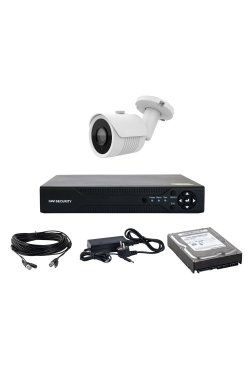 Комплект AHD видеонаблюдения на одну уличную камеру CoVi Security AHD-01W KIT + HDD500