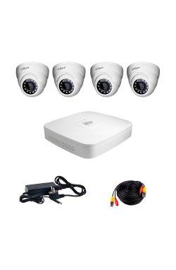 Комплект видеонаблюдения Dahua HDCVI-4D KIT