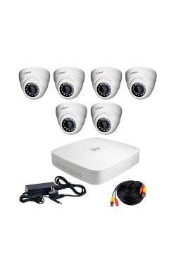 Комплект видеонаблюдения Dahua HDCVI-6D KIT