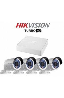 Комплект видеонаблюдения Hikvision DS-J142I/7104HGHI-F1 (4 out)