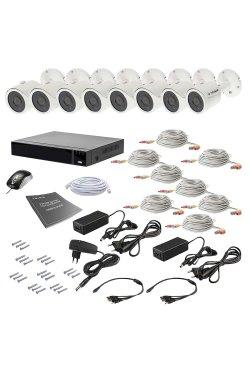 Комплект видеонаблюдения Tecsar AHD 8OUT 5MEGA