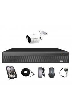 Комплект видеонаблюдения CoVi Security AHD-1W 5MP MasterKit + HDD500