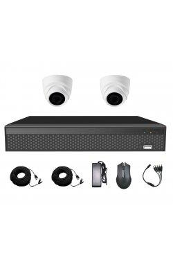 Комплект видеонаблюдения CoVi Security AHD-2D 5MP MasterKit