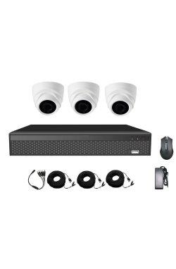 Комплект видеонаблюдения CoVi Security AHD-3D 5MP MasterKit