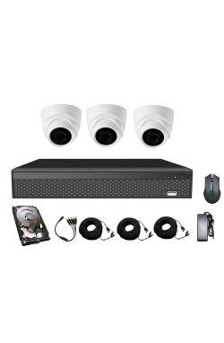 Комплект видеонаблюдения CoVi Security AHD-3D 5MP MasterKit + HDD500