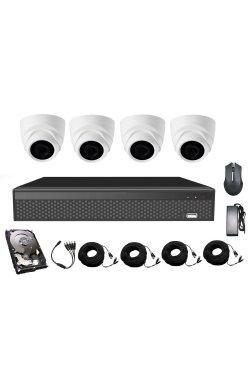 Комплект видеонаблюдения CoVi Security AHD-4D 5MP MasterKit + HDD500