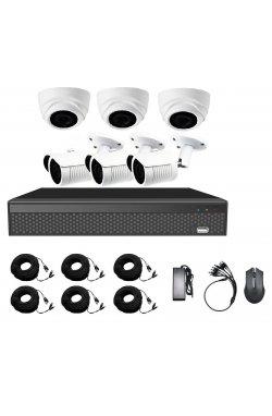 Комплект видеонаблюдения CoVi Security AHD-33WD 5MP MasterKit