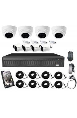 Комплект видеонаблюдения CoVi Security AHD-44WD 5MP MasterKit + HDD1000