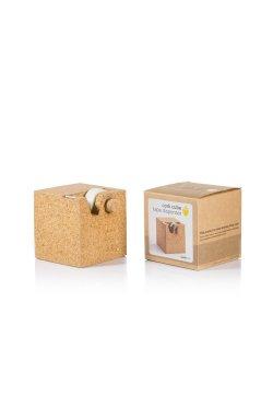 Диспенсер для скотча из коркового дерева - wos1635