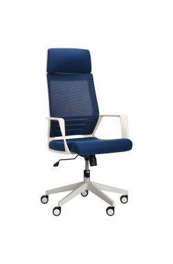 Кресло Twist white синий