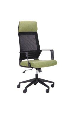 Кресло Twist black черный/зеленый