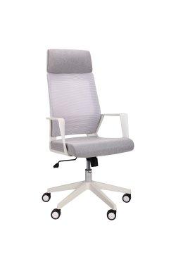 Кресло Twist white светло-серый