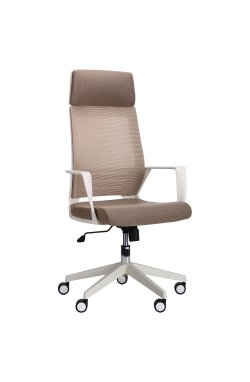 Кресло Twist white бежевый