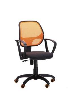 Кресло Бит Color/АМФ-7 сиденье А-2/спинка Сетка оранжевая