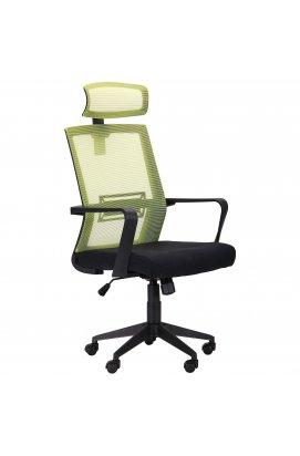 Крісло Neon лайм / чорний