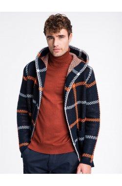 Sweter męski E161 - indygo