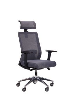 Кресло Link серый