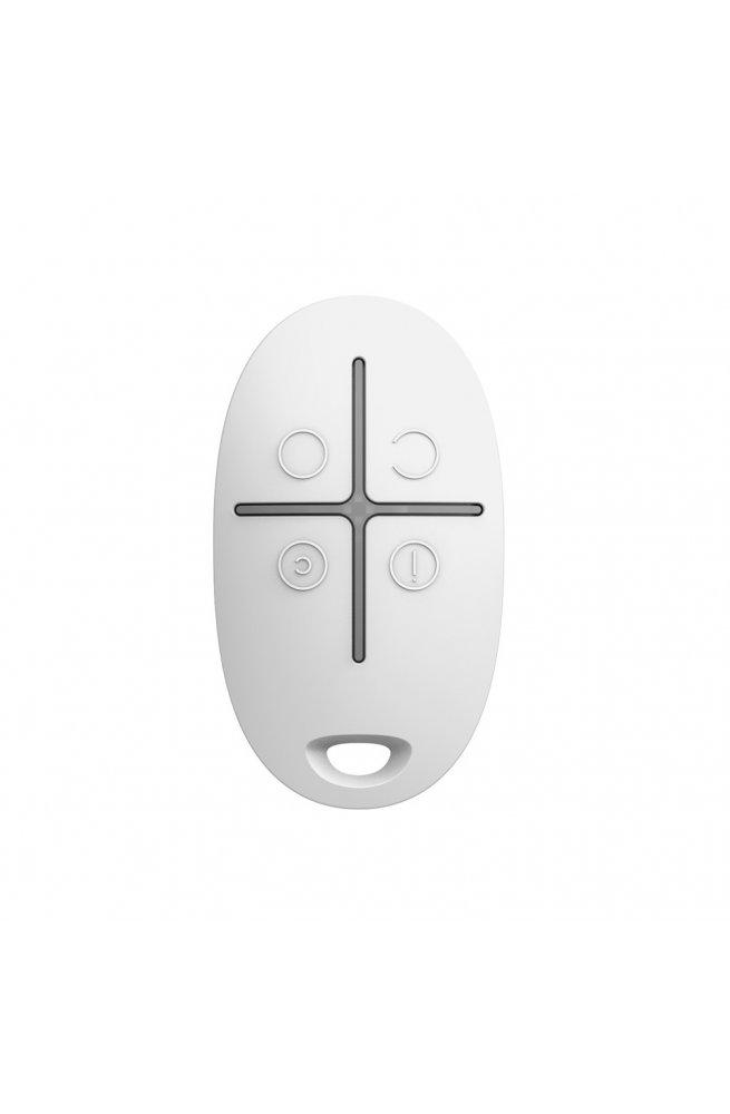 Брелок для управления охранной системой Ajax SpaceControl White