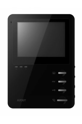 """Цветной видеодомофон на 4"""" Arny AVD-410 Black"""