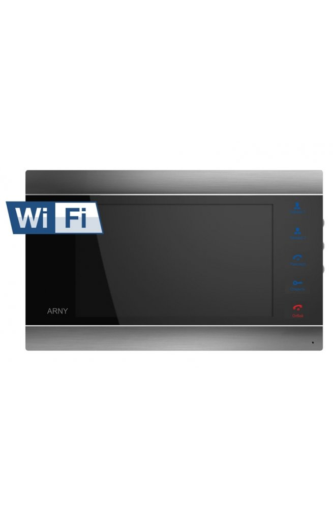 Видеодомофон ARNY AVD-720M Wi-Fi (black)