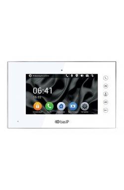 IP видеодомофон BAS-IP AQ-07 V4 white